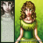 kaia earth green girl brown eyes celestial seeds foundation strenght growth
