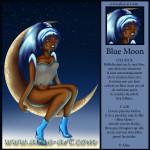 blue moon - ciel bleu air etoiles file