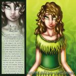 Kaia aarde zaden vruchtbaar groen bruin haar meisje moeder fundamenten vooruitgang levende hart